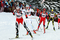 Juergen Pinter (AUT), Calle Halfvarsson (SWE) und Kristian Tettli Rennemo (NOR) (Pascal Muller/EQ Images)