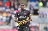 Jerome Taylor of Somerset during the Vitality T20 Finals Day Semi Final 2018 match between Worcestershire Rapids and Lancashire Lightning at Edgbaston, Birmingham, United Kingdom on 15 September 2018.