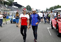 September 2, 2018 - Monza, Italy - Motorsports: FIA Formula One World Championship 2018, Grand Prix of Italy, .#16 Charles Leclerc (MCO, Alfa Romeo Sauber F1 Team), #10 Pierre Gasly (FRA, Red Bull Toro Rosso Honda) (Credit Image: © Hoch Zwei via ZUMA Wire)