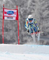 04.03.2011, Pista di Prampero, Tarvis, ITA, FIS Weltcup Ski Alpin, Supercombi der Damen, im Bild, Marusa Ferk (SLO) // Marusa Ferk (SLO) during Ladie's Supercombi FIS World Cup Alpin Ski in Tarvisio Italy on 4/3/2011. EXPA Pictures © 2011, PhotoCredit: EXPA/ J. Groder