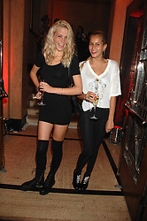 Left to right, LAURA FRASER and ALICE DELLAL at the M.A.C. Viva Glam party featuring a performance by Dita Von Teese of 'Lipteese' held at the Bloomsbury Ballroom, Victoria House, Bloomsbury Square, London on 27th June 2007.<br />