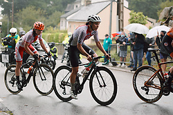 Elise Chabbey (SUI) at the 2020 UEC Road European Championships - Elite Women Road Race, a 109.2 km road race in Plouay, France on August 27, 2020. Photo by Sean Robinson/velofocus.com