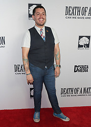 Jeffrey Mark Klein at Death Of A Nation Los Angeles Premiere held at Regal L.A. Live: A Barco Innovation Center on July 31, 2018 in Los Angeles, California, United States (Photo by Jc Olivera for Jade Umbrella)