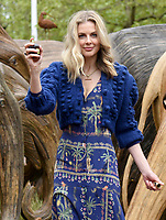 Donna Air  taking part The Elephant Family's CoExistence campaign  exhibition featuring elephant sculptures crossing The Mall  london  May 15, 2021,photo by Krisztian  Elek