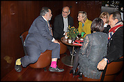 FRANCIS FORD COPPOLA; ALAN YENTOB; PHILLIPA WALKER; RICHARD E. GRANT, Liberatum Cultural Honour for Francis Ford Coppola<br /> with Bulgari Hotel & Residences, London. 17 November 2014