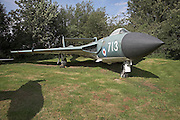 De Havilland Sea Vixen FAW.1 Norfolk  Suffolk aviation museum Flixton Bungay England.