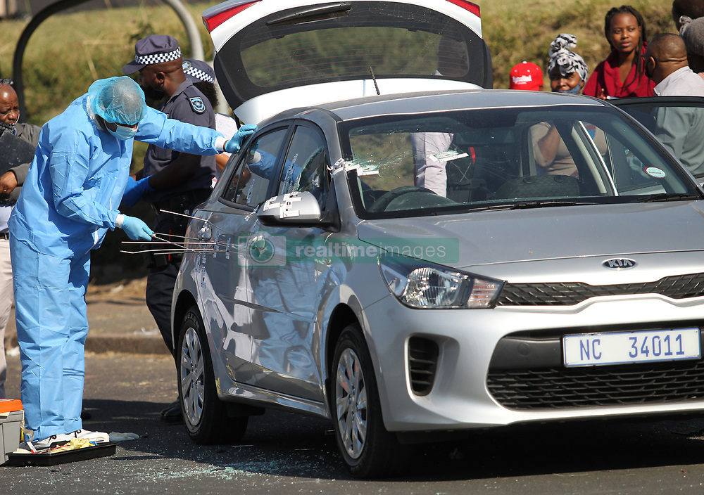 South Africa - Durban - 09 June 2020 - Two Metro cops shot dead in Hammarsdale township, West of Durban on Tuesday morning as they were on their way to work.<br /> Picture: Doctor Ngcobo/African News Agency(ANA)