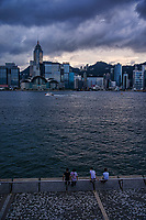 HK Skyline from Tsim Sha Tsui Promenade, Kowloon