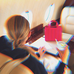 """Gigi Hadid releases a photo on Instagram with the following caption: """"traveling light n bright @maxmara #ad"""". Photo Credit: Instagram *** No USA Distribution *** For Editorial Use Only *** Not to be Published in Books or Photo Books ***  Please note: Fees charged by the agency are for the agency's services only, and do not, nor are they intended to, convey to the user any ownership of Copyright or License in the material. The agency does not claim any ownership including but not limited to Copyright or License in the attached material. By publishing this material you expressly agree to indemnify and to hold the agency and its directors, shareholders and employees harmless from any loss, claims, damages, demands, expenses (including legal fees), or any causes of action or allegation against the agency arising out of or connected in any way with publication of the material."""