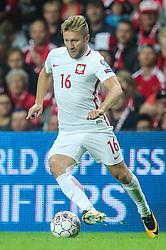 September 1, 2017 - Copenhagen, Denmark - Jakub Blaszczykowski (POL), during the FIFA 2018 World Cup Qualifier between Denmark and Poland at Parken Stadion on September 1, 2017 in Copenhagen. (Credit Image: © Foto Olimpik/NurPhoto via ZUMA Press)