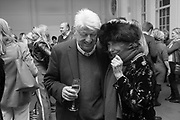 STANLEY JOHNSON, Rachel Kelly celebrates the publication of ' Singing In the Rain' An Inspirational Workbook. 20 Cavendish Sq. London W1. 17 January 2019.