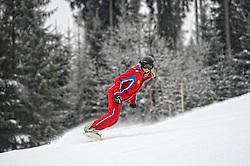 23-01-2015 NED: BvdGF Winterkamp 2015, Flachau<br /> De laatste dag van het wintersportkamp in Flachau. Iedereen heeft het weer uitstekend naar zijn/haar zin en het belangrijkste, ze hebben weer wat geleerd betreft sporten met diabetes / Ski Leraar Cat