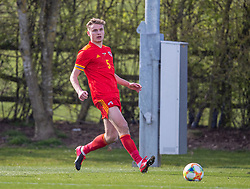 WREXHAM, WALES - Friday, March 26, 2021: Wales' Billy Sass-Davies during an Under-21 international friendly match between Wales and Republic of Ireland at Colliers Park. Republic of Ireland won 2-1. (Pic by David Rawcliffe/Propaganda)