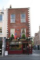 Toners Irish pub on Baggot Street Dublin Ireland