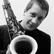 1987 Andy Sheppard portraits - London Jazz Musician