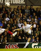 Photo: Chris Ratcliffe.<br /> England v France. U21 European Championships.<br /> 11/11/2005.<br /> James Milner
