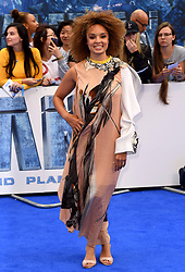 Pandora Christie attending the European premiere of Valerian and the City of a Thousand Planets at Cineworld in Leicester Square, London