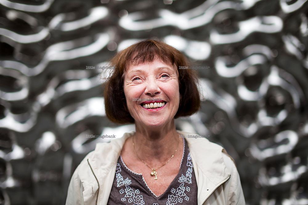 Oslo, Norge, 23.07.2012. Professor i nordisk språkvitenskap Ruth Vatvedt Fjeld. Foto: Christopher Olssøn.