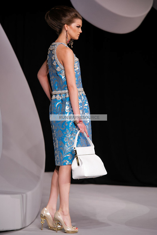 Kasia Struss walks the runway  at the Christian Dior Cruise Collection 2008 Fashion Show