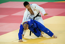 09-08-2016 BRA: Olympic Games day 4, Rio de Janeiro<br /> Takanori Nagase JAP pakt de bronze medaille -81 kg Photo by Ronald Hoogendoorn / Sportida