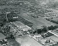 1919 Aerial of Robert Brunton Studios on Melrose Ave.