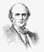 Charles Lyell (1797-1875) Scottish-born British geologist whose 'Principals of Geology' 1830-33 was highly influential. Engraving after portrait by Richmond.