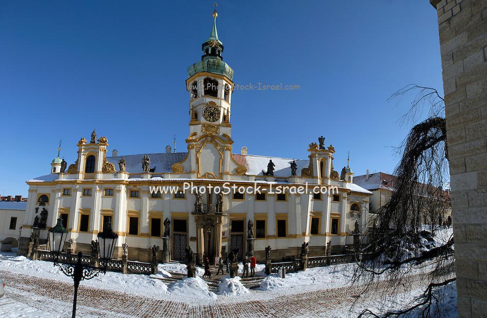 Prague, Czech Republic The Loreto Belltower.