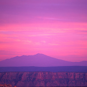 Navajo Mountain can be seen for miles as the highest spot in a large area of the AZ. desert.