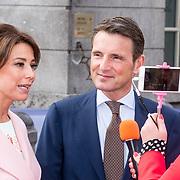 NLD/Groningen/20180427 - Koningsdag Groningen 2018, Prins Maurits en Prinses Marylene