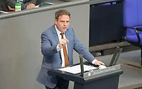 DEU, Deutschland, Germany, Berlin, 23.04.2021: Deutscher Bundestag, Markus Koob (CDU) bei einer Rede in der Plenarsitzung.