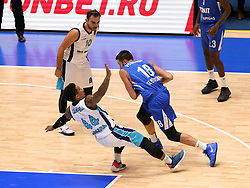 October 3, 2018 - St. Petersburg, Russia - October 3, 2018 St. Petersburg. Russia. Eurocup. BK Zenit-BK Turk Telecom. Player Yevgeny Voronov  (Credit Image: © Russian Look via ZUMA Wire)