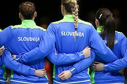 during the EHF Euro 2020 Group A match between Montenegro and Slovenia in Jyske Bank Boxen, Herning, Denmark on December 8, 2020. Photo Credit: Allan Jensen/EVENTMEDIA.
