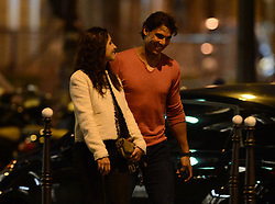 No Web No Apps Until June 15, 2014 - Spain tennis player Rafael Nadal and his girlfriend Xisca Perello are pictured leaving L'Avenue Restaurant as part of the French Tennis Open 2014 in Paris, France on June 1, 2014. Photo by ABACAPRESS.COM  Petit-copain Petit-amie Petit-ami Petit amie Petit ami Fiancee Fiance Ehemann Husband Wife Ehefrau Epoux Epouse Femme Mari Amoureux Compagne Compagnon Companion Couple Couple Girlfriend Hors-Sport Hors Sport Paparazzi Pictures Planque Stake Out  | 450440_006 Paris France