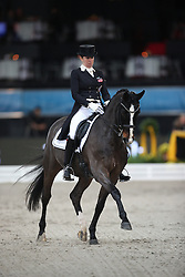 Neumayer Astrid, (AUT), Rodriguez 4<br /> Grand Prix Dressage<br /> Stuttgart - German Masters 2015<br /> © Hippo Foto - Stefan Lafrentz