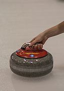 """Glasgow. SCOTLAND.  """"The Grip', handling the """"Stone through, the Hack"""" Round Robin"""" Games. Le Gruyère European Curling Championships. 2016 Venue, Braehead  Scotland<br /> Monday  21/11/2016<br /> <br /> [Mandatory Credit; Peter Spurrier/Intersport-images]"""