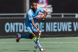 Sunil Sowmarpet Vitalacharya of India during the Champions Trophy finale between the Australia and India on the fields of BH&BC Breda on Juli 1, 2018 in Breda, the Netherlands.