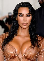 Kim Kardashian-West attending the Metropolitan Museum of Art Costume Institute Benefit Gala 2019 in New York, USA.