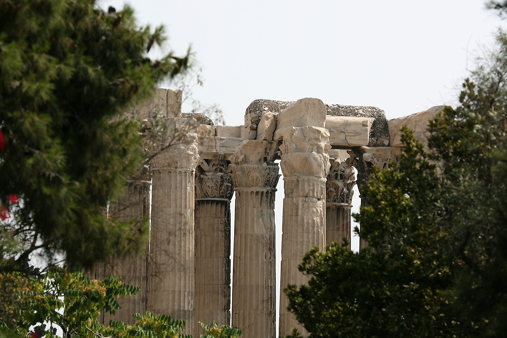 COLUMNS OF ZEUS, ATHENS GREECE
