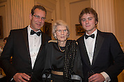 ANDREW PERCY; LADY BUTE; AYDEN PERCY, The National Trust for Scotland Mansion House Dinner. Mansion House, London. 16 October 2013