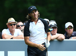 May 25, 2017 - Virginia Water, United Kingdom - Tommy Fleetwood of England  during 1st Round for the 2017 BMW PGA Championship on the west Course at Wentworth on May 25, 2017 in Virginia Water,England  (Credit Image: © Kieran Galvin/NurPhoto via ZUMA Press)