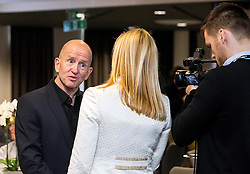 Eddie 'The Eagle' Edwards talks to Bristol Sport TV - Mandatory by-line: Robbie Stephenson/JMP - 29/04/2016 - FOOTBALL - Ashton Gate - Bristol, England - Bristol Sport Big Sports Breakfast Eddie The Eagle