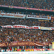 Galatasaray's Supporters during their Turkish Super League soccer match Galatasaray between Sivasspor at the AliSamiYen Spor Kompleksi TT Arena at Seyrantepe in Istanbul Turkey on Sunday 05 May 2013. Photo by TURKPIX