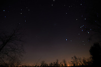 Late Fall 02:20 AM Sky in New Jersey. Image taken with a Nikon D4 and 14-24 mm f/2.8G lens (ISO 200, 14 mm, f/2.8, 59 sec).