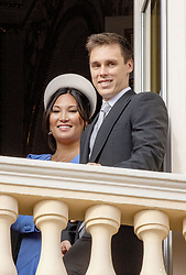 November 19, 2019, Monaco, Monaco: 19-11-2019 Monte Carlo Louis Ducruet (R) and partner Marie Hoa Chevallier during the Monaco national day celebrations in Monaco. (Credit Image: © face to face via ZUMA Press)