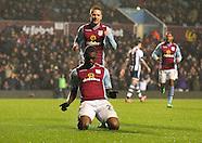 Aston Villa v West Bromwich Albion 290114