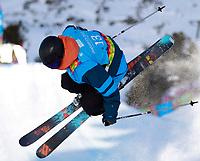 Freestyle<br /> Kuehtai Østerrike<br /> 14.01.2012<br /> Foto: Gepa/Digitalsport<br /> NORWAY ONLY<br /> <br /> YOG2012, Olympische Jugend-Winterspiele Innsbruck, Halfpipe, Qualifikation Herren. Bild zeigt Johan Berg (NOR).