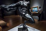 Iris, messagère des Dieux by Rodin, Est. GBP 1,800,000 - GBP 2,500,000, and André Derain, Londres: la Tamise au pont de Westminster, Est. GBP 6,000,000 - GBP 9,000,000 - Christie's unveil an exhibition of in advance of their Impressionist and Modern sale on 27 February.