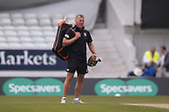 Alec Stewart during the Specsavers County Champ Div 1 match between Yorkshire County Cricket Club and Surrey County Cricket Club at Headingley Stadium, Headingley, United Kingdom on 10 May 2016. Photo by Simon Davies.