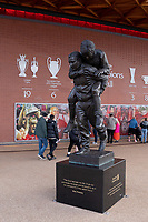 Football - 2021 / 2022 UEFA Champions League - Group B, Round One - Liverpool vs AC Milan - Anfield - Wednesday 15th September 2021<br /> <br /> <br /> The Bob Paisley Memorial outside Anfield stadium<br /> <br /> <br /> <br /> Credit COLORSPORT/Terry Donnelly