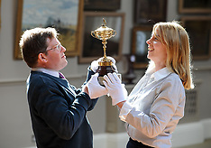 Replica Ryder Cup trophy auction, Edinburgh, 14 May 2018